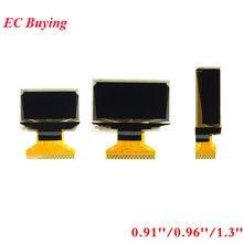 Tela oled lcd 0.91 0.96 1.3, Polegada 0.91 tela branca módulo oled 0.96 ''1.3'' 128 ''128x64 ssd1306 sh1106 para arduino
