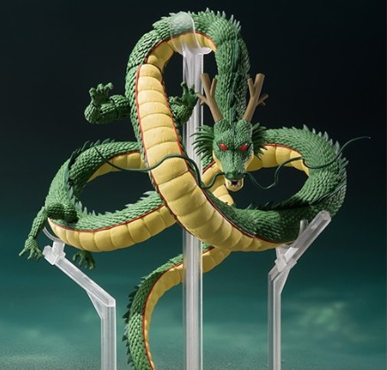 NEW hot 21cm Dragon Ball Shenron ishing move the joints action figure toys collection Christmas gift with box new hot 23cm the frost archer ashe vayne action figure toys collection doll christmas gift with box