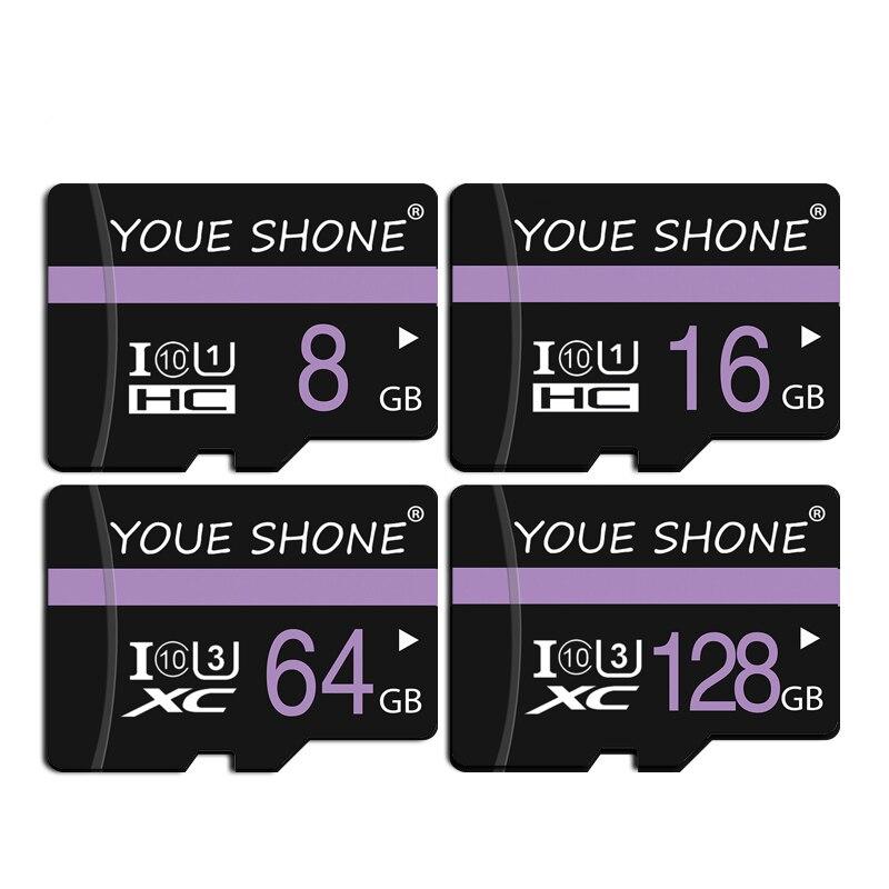 Новейшая карта micro sd 8 ГБ 16 ГБ 32 ГБ 64 Гб 128 ГБ SDXC/SDHC class 10 флеш-карта памяти micro sd 32 Гб sdcard для смартфона/камеры
