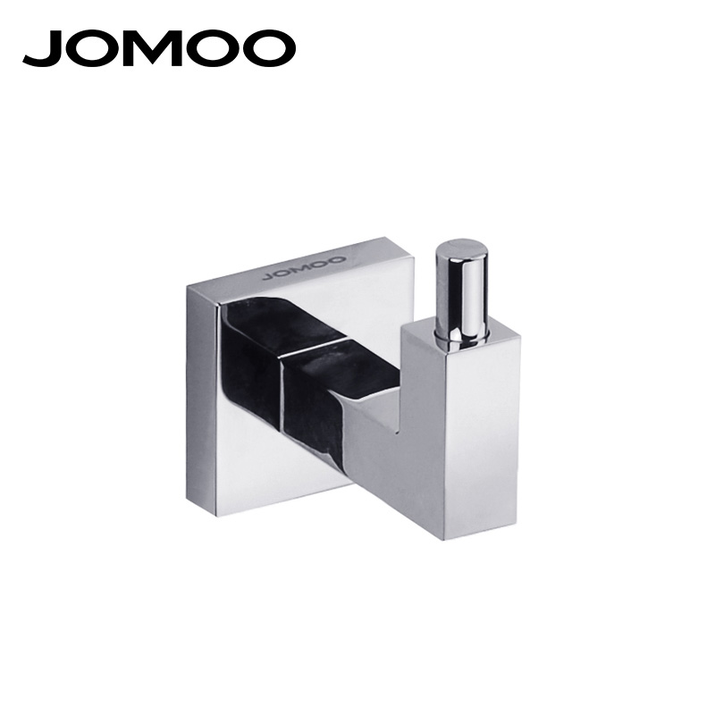 JOMOO bathroom accessories robe hook coat dress hook brass chrome finish  wall mount hat hanger bathroom. Compare Prices on Bathroom Clothes Hanger  Online Shopping Buy Low