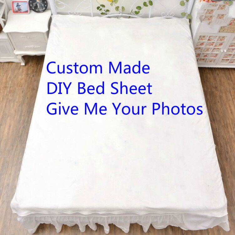 Special Customized Anime 3D Bedding Bed Sheet Bedsheet Quilt 150 200cm Animation Throw Blanket Dropshipping