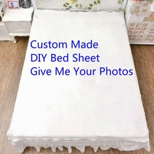 Special Customized Anime 3D Bedding Bed Sheet Bedsheet Quilt 150*200cm Animation Throw Blanket  Dropshipping