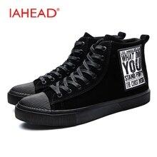 Iahead Мужские ботинки высокие Кружево-Up Туфли без каблуков повседневная обувь зима-осень модные Армейские ботинки Для мужчин S резиновые сапоги для дождя MU538
