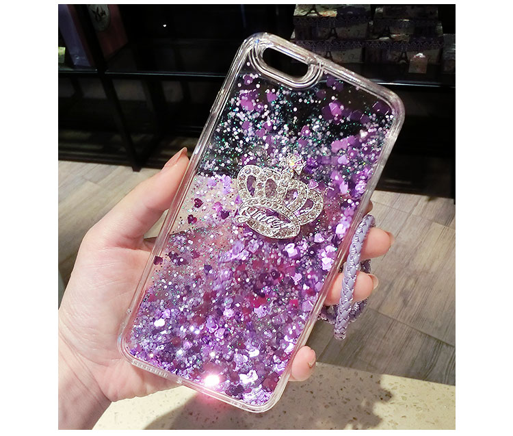A520 A720 (2017) A310 A5 For Samsung A3 A5 A7 (2016) Phone Case Quicksand Dynamic Liquid Glitter Sand Silicone Rhinestone Cover