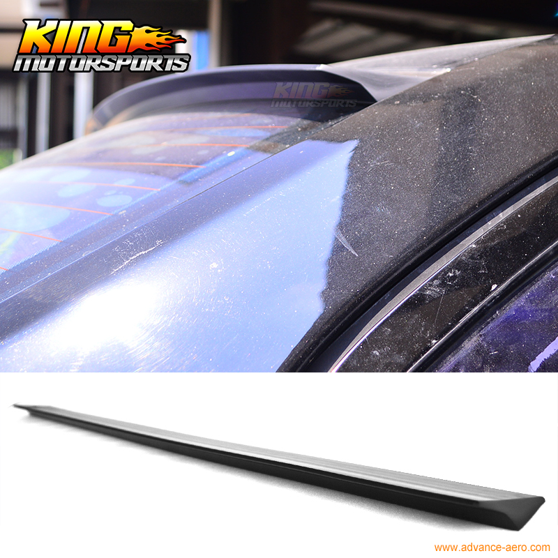 For 2007-2012 08 09 10 11 Nissan Sentra B16 4DR VRS Style Roof Spoiler Wing Unpainted - PUF for 09 10 11 mazda 6 2nd vrs style roof spoiler wing unpainted puf