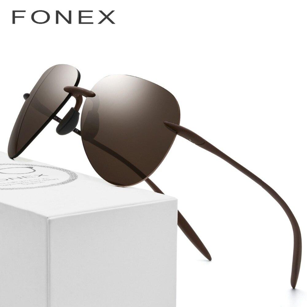 Ultem TR90 без оправы поляризованных солнцезащитных очков Для мужчин Сверхлегкий 2018 Новый высокое качество солнцезащитные очки для Для женщин ...