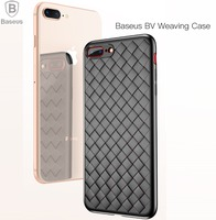 BASEUS Brand Fashion BV Weaving Case For IPhone 8 8 Plus 7 7 Plus Cover Knitted