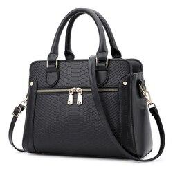 Женская сумка женские сумки через плечо из искусственной кожи змеиный принт Женская сумка элегантная женская сумка-мешок основной 2018 Мода