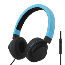GS788 3.5mm Headphone Headset Noise Canceling Mic Adjustable Fit Headband for phone ditmo 3 5mm adjustable foldable headband noise canceling stereo headphone dark blue