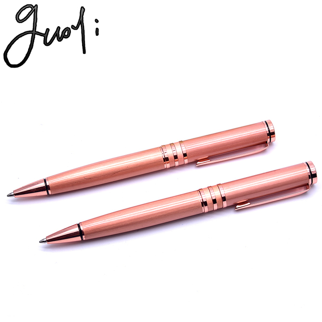 New Guoyi QA8 copper ball-point pen. Office & School Supplies metal gift Pens, Pencils & Writing Supplies Ballpoint Pens
