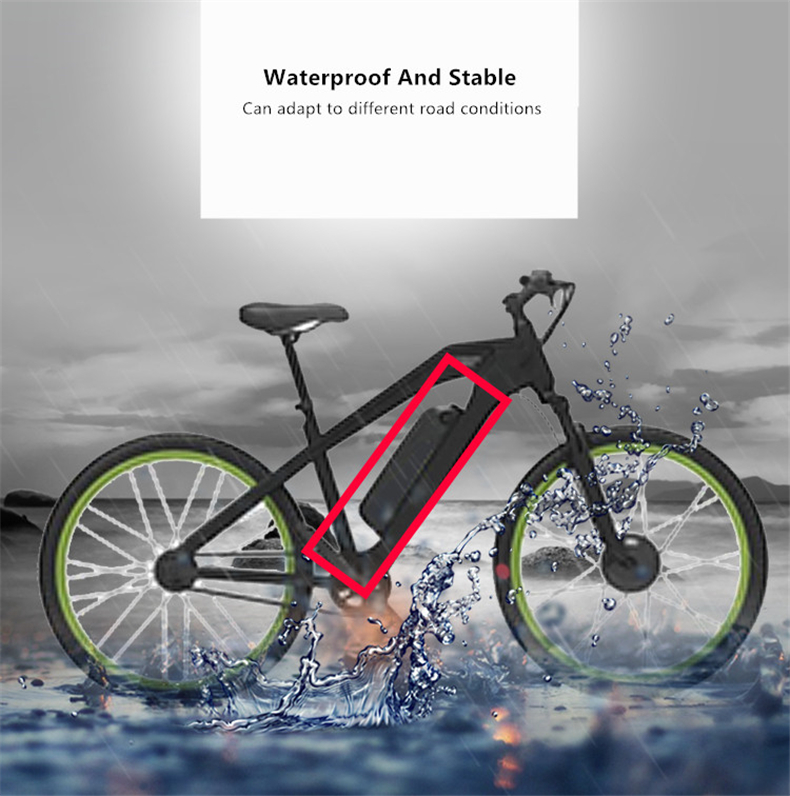 New 48V 16AH Li-ion Electric Bike E Battery Ebike with 30A BMS for 8fun Bafang 350/500/750/1000W BBS02 BBSHD bike motor