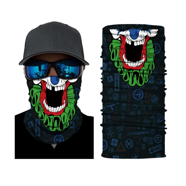 CDCOTN Car Motorcycle & Bike Protective Mask Face Mask Hats Seamless Bandana Scarve Halloween Party Feast Supplies 2