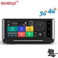 QUIDUX 3G/4G Car DVR Camera GPS 6.86 Android 5.1 Full HD 1080P WIFI Video Recorder Dash cam Registrar Parking Monitoring