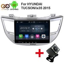 "Octa Core 2 din 10.1 ""Android 6.0 Radio de Coche DVD GPS para Hyundai IX35 Tucson 2015 2016 Con 2 GB de RAM Bluetooth Audio WIFI 32 GB ROM"