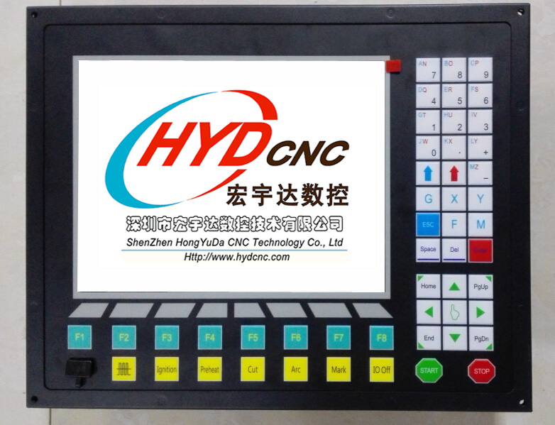 Best cnc controller system for cnc plasma/flame cutter HYD-2300A