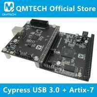 QMTECH Cypress CYUSB3014 USB 3.0 Development Board && Xilinx Artix7 FPGA XC7A35T