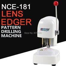 Perceuse à motifs NCE-181Three trous, perceuse d'objectif, gabarit, poinçon, couvercle en plastique