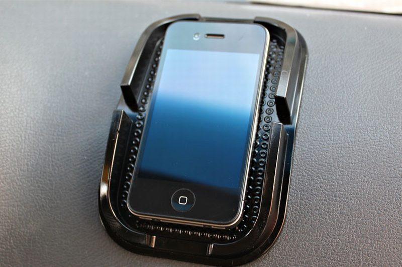 HTB1.vQuLXXXXXXqXVXXq6xXFXXXt - Black Car Dashboard Sticky Pad Mat Anti Non Slip Gadget Mobile Phone GPS Holder Interior Accessories soporte For meizu m2 mini