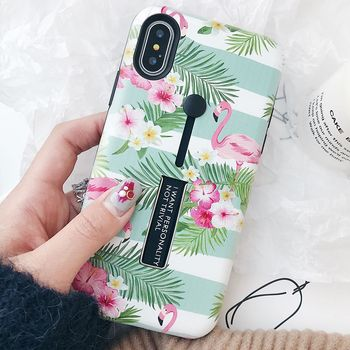 iPhone XS Max Case Flower Pressed