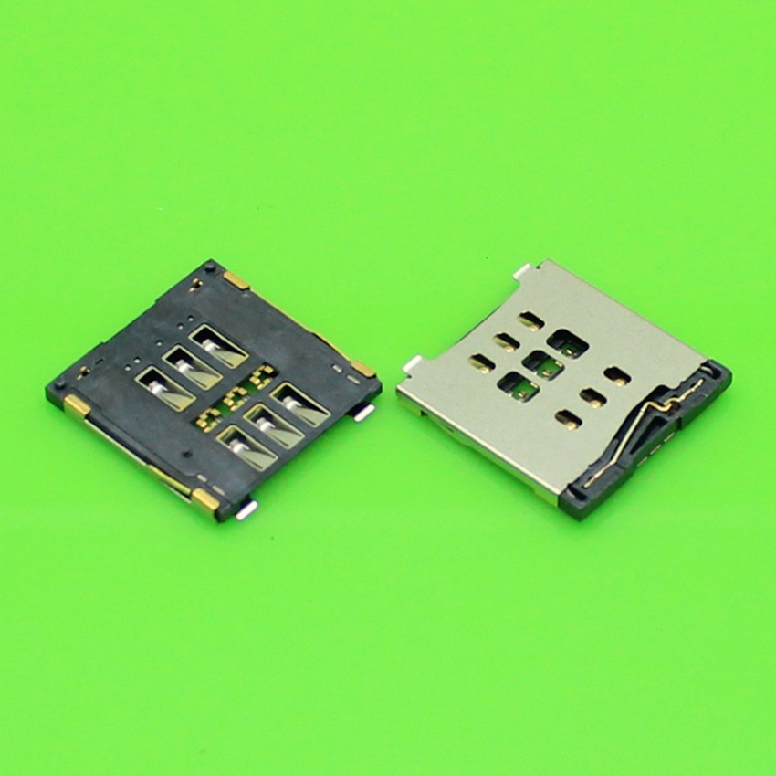 20PCS/lot, brand new SIM card reader for iPhone 6 6G and 6 plus 6PLUS socket holder connector slot,
