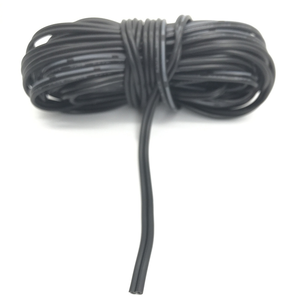 Tinned copper 18 20 22 24 AWG, 2 pin cable,Stranded wire PVC ...