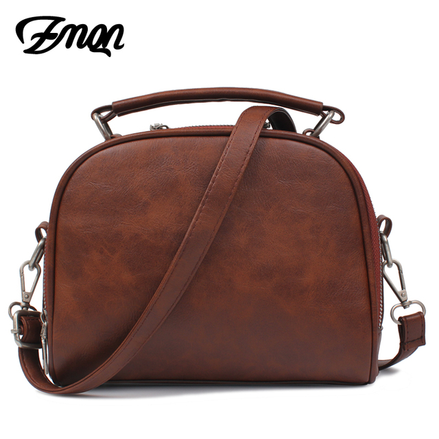 ZMQN Small PU Leather Handbags 1