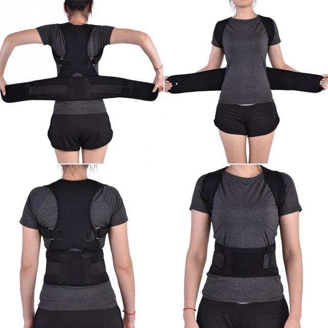 Black S Posture brace 5c64ca34e8ac8
