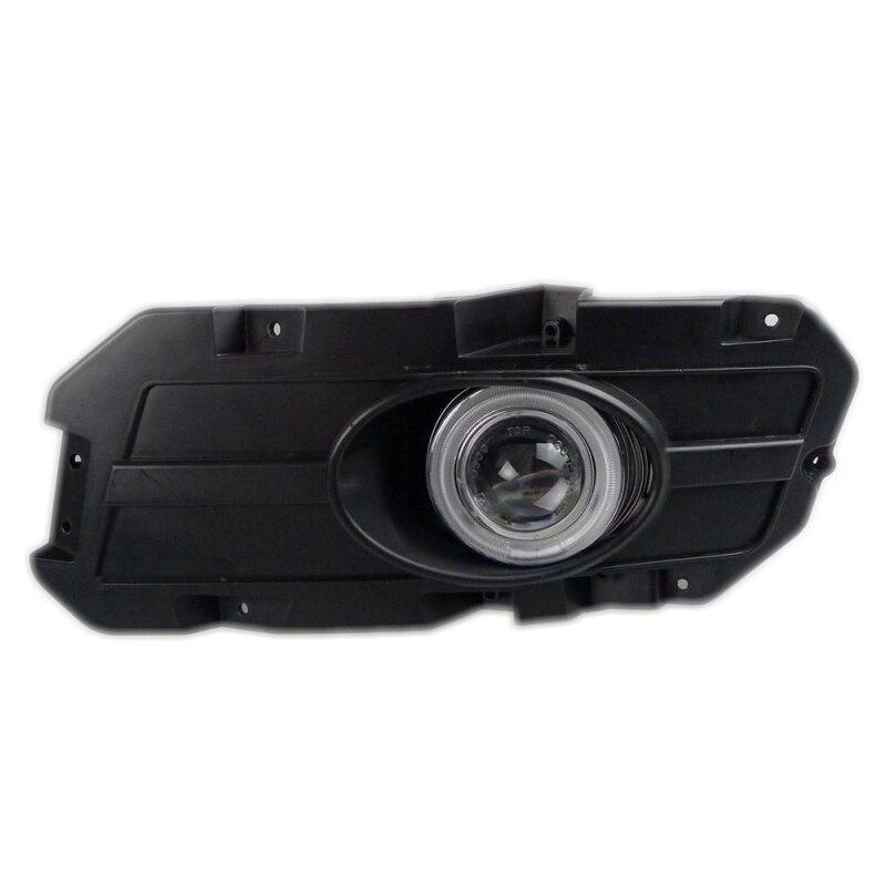 BYD S6 2011 2012-in-1 LED Luci di Segnalazione Bianco Giallo COB Angel Eyes H11 55 W Alogena Fendinebbia Paraurti Lente Del Proiettore