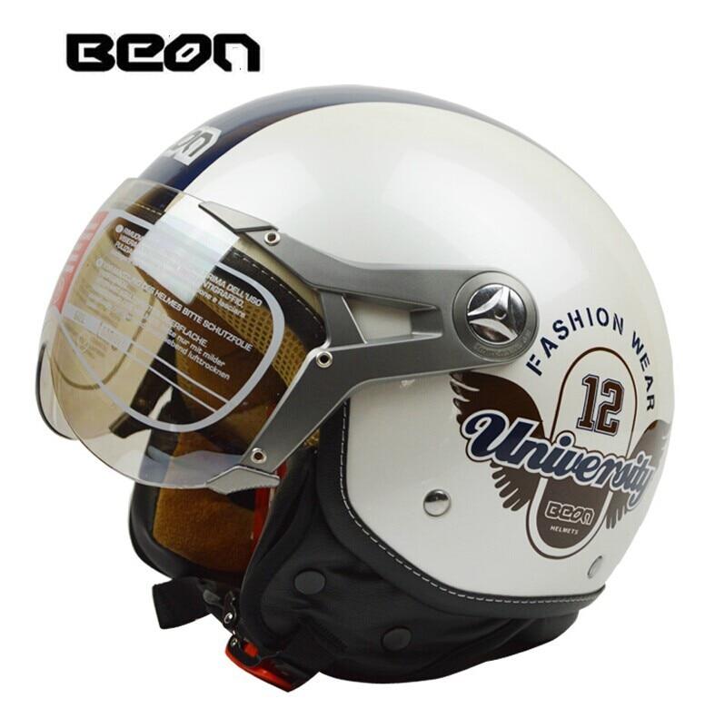 ФОТО Fashion Beon open face helmet,Electric bicycle open face helmet,vintage motorcycle helmet,ECE Approved