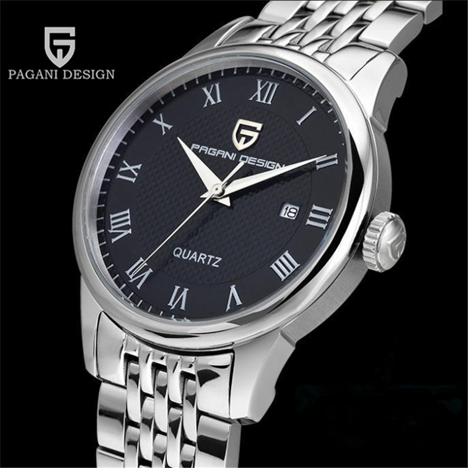 PAGANI DESIGN Watch Mens Watches Top Brand Luxury Man Waterproof Quartz Wrist Watch Clock Men Hours 2017 saat Relogio Masculino luxury brand watch men 2017 classic business dress mens quartz wrist watch relogio masculino waterproof clock man hours casima