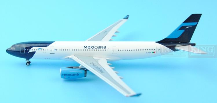 Aeroclassics Mexico Airlines XA-MXQ 1:400 A330-300 commercial jetliners plane model hobby spike wings xx4502 jc turkey airlines b777 300er san francisco 1 400 commercial jetliners plane model hobby