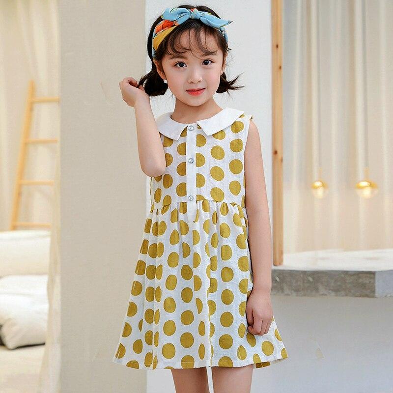 e978552f3c158a9 От 2 до 10 лет платье для маленьких девочек 2019 Летние Детские платья для  девочек праздничное