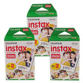 Original Fuji Fujifilm Instax Mini 8 Film 60 pcs White Edge Photo Papers For Polaroid 7s 8 90 25 55 Share SP-1 Instant Camera