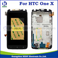 1pcs For HTC One X S720E LCD Display+Touch Screen with frame Digitizer Assembly Replacement Parts