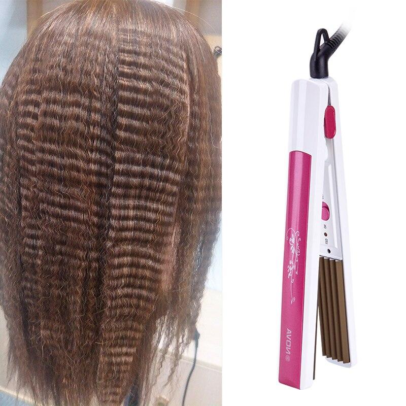 CHJPRO Professional hair Curler Straightener Crimper Curling