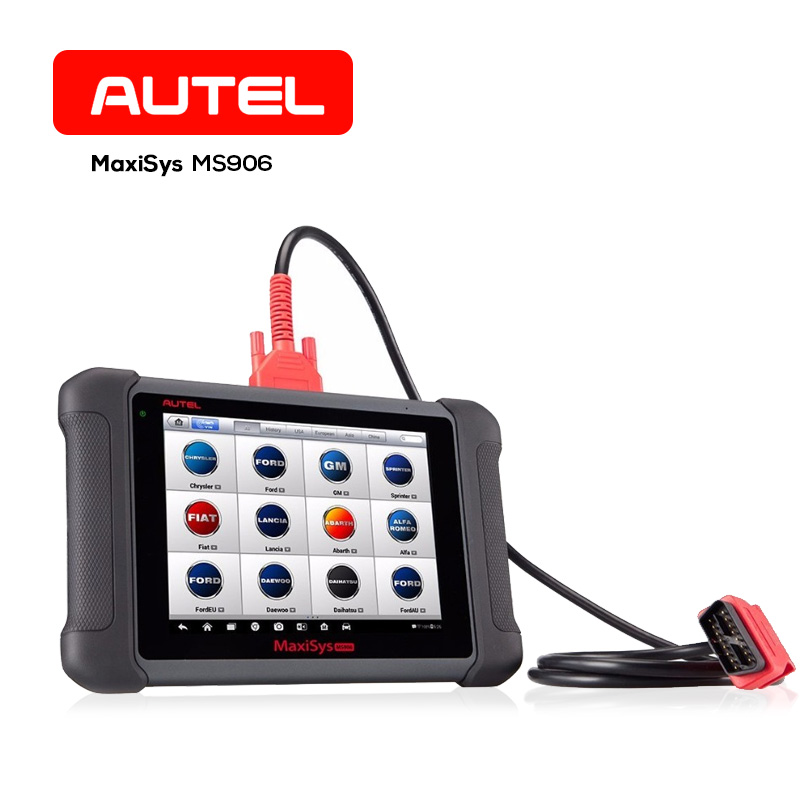 Autel Maxisys MS906 OBD2 Auto Diagnostic Analysis Tool Smart Code Reader Scanner Tool with Minimum Coding Function for Vehicle