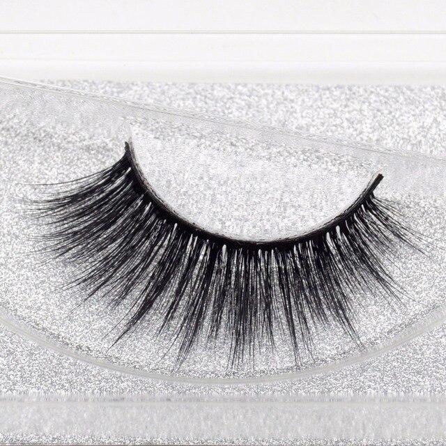d71891c588c False Eyelashes Winged 3D Faux Mink Lashes Fluffy Eyelashes Makeup Long Eye Lashes  Eyelash Extension Cilios Fake Lashes