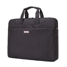 14-15 inch Laptop computer Bag Ladies Males Pocket book Bag Shoulder Messenger Waterproof Laptop Sleeve Purse for Case (Black)