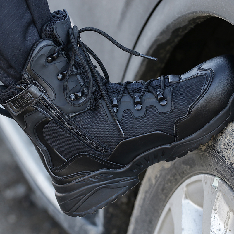 Outdoor Sports Camping Hiking Men s shoes Mountain Military Tactical Boot Mens Hiking Boots Non slip
