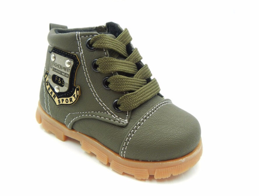 16 autumn children sport shoes boys chaussure baby girls short boots for kids sneakers child Ankle casual martin shoes 21