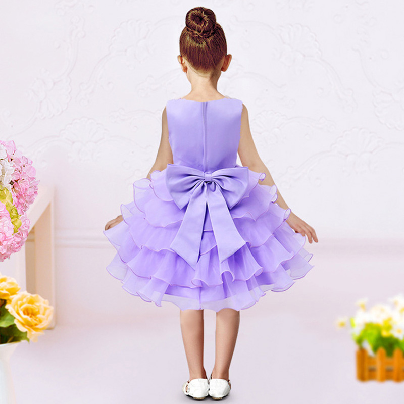 a41266e8cc0 Sequined Flower Children Pageant Dresses For Girls Summer Fashion 2018  Teenager Kid Clothing Princess Birthday Party And Wedding-in Dresses from  Mother ...