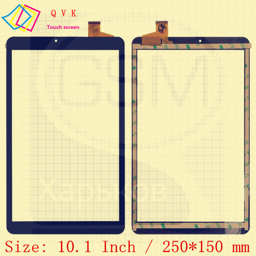 Black 10.1 Inch For  Irbis TZ161 TZ162 Tablet Pc Capacitive Touch Screen Glass Digitizer Panel Free Shipping