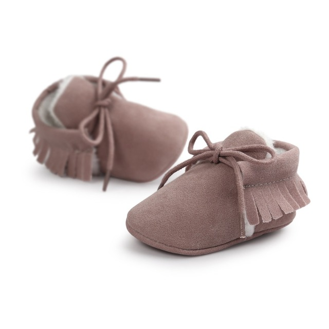 Baby Winter Moccasins