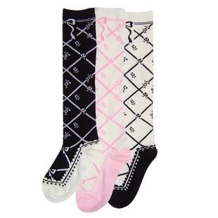 Lolita Princess Autumn and winter thickening female socks 100% cotton socks sock knee-high vintage KCCW17