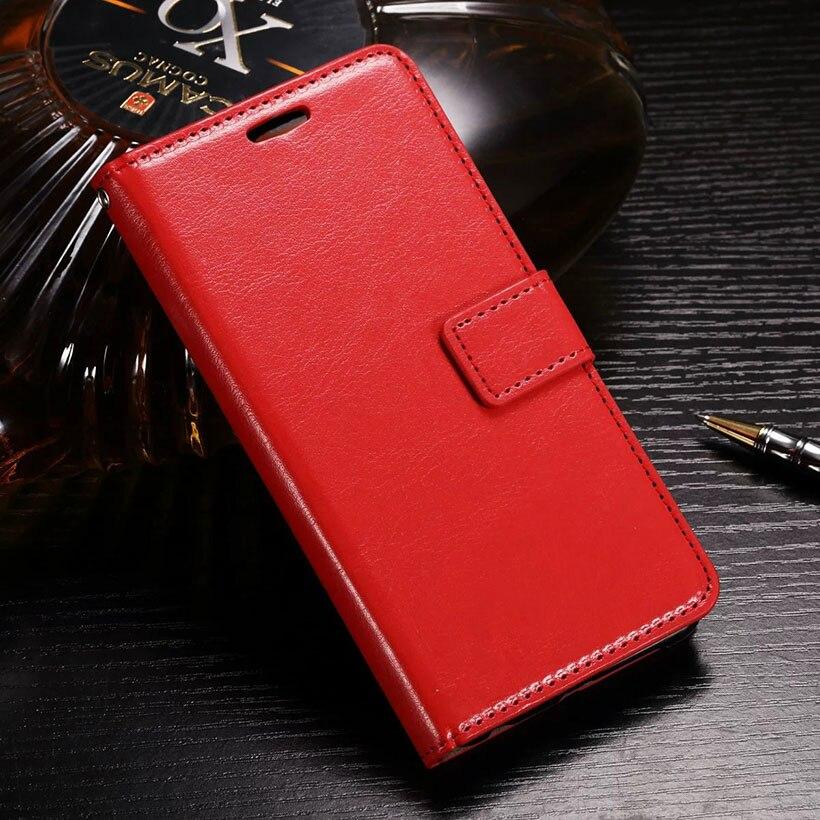 Cubierta del teléfono celular casos de cuero flip case para alcatel onetouch pop