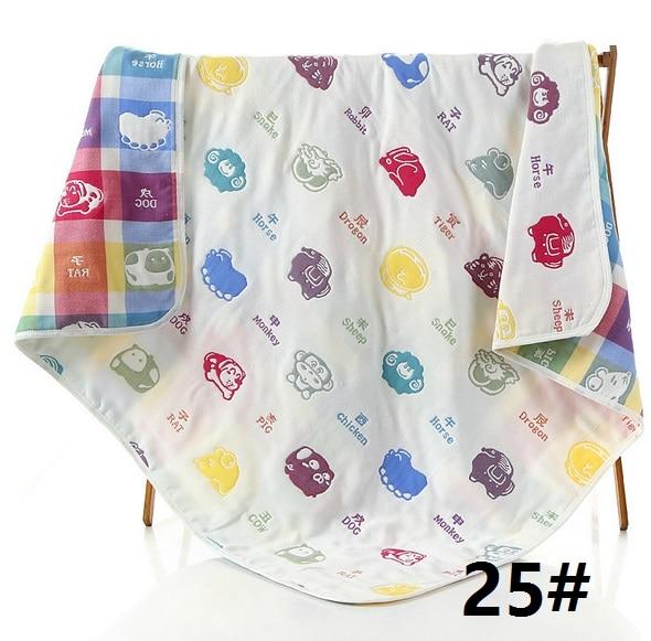 camadas toalha de banho do bebê recém-nascido