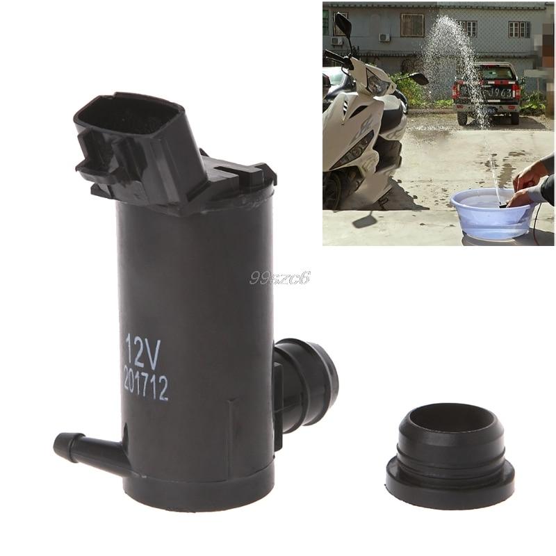 High Pressure 12V 3.7A Water Pump Washer Car Glass High Power Wash Washing Pump DropShip ...