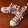 2017 Летние Удобные Dva Девушки Косплей Размер Обуви 6.5-8 Dva Холст Обувь Для Женщин Дышащий Повседневная Обувь