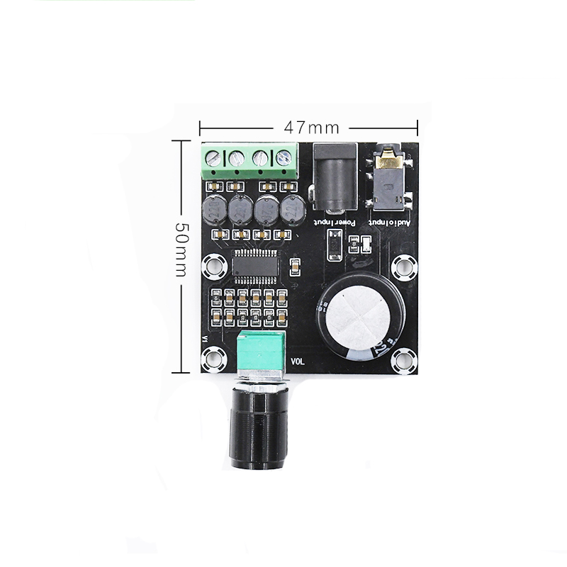 Digital HD Power Amplifier Board Desktop Electronic Speaker Diy DC 8-24V Audio Amplifiers 30W HIFI Dual Channel amplificador