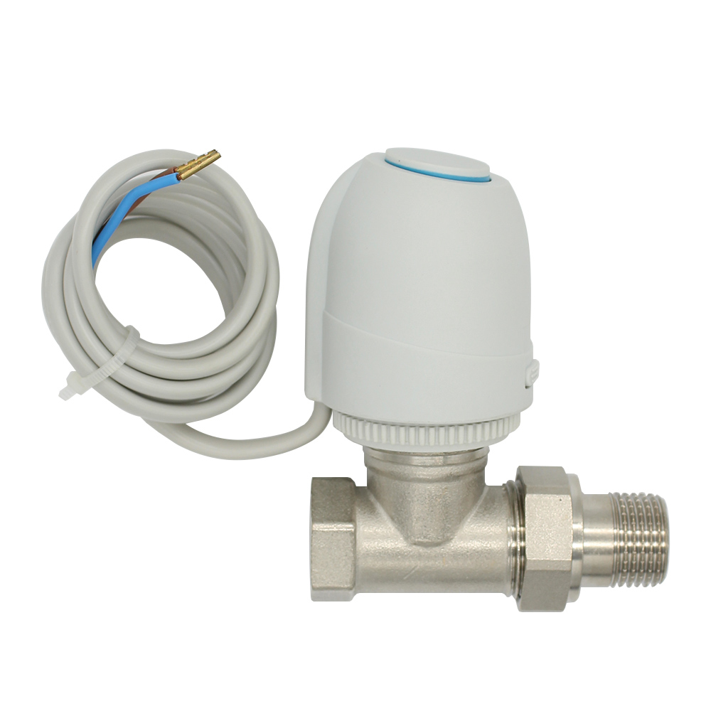 230V  Normally Open  Normally close  Electric Thermal Actuator for   room temperature control   brass valve DN15-DN32 ac 250v 20a normal close 60c temperature control switch bimetal thermostat
